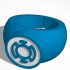 Blue Lantern Ring New image