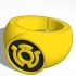 Sinestro Corps (Yellow Lantern) Ring New image