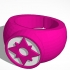 Star Sapphire (Violet Lantern) Ring New image