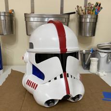 Picture of print of Clone Trooper Helmet Phase 2 Star Wars