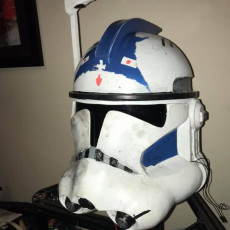 Picture of print of Clone Trooper Helmet Phase 2 Star Wars