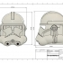 Clone Trooper Helmet Phase 2 Star Wars image