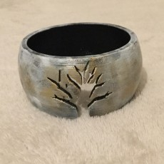 Picture of print of Tree Silhouette Bracelet