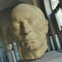 Head of a man image