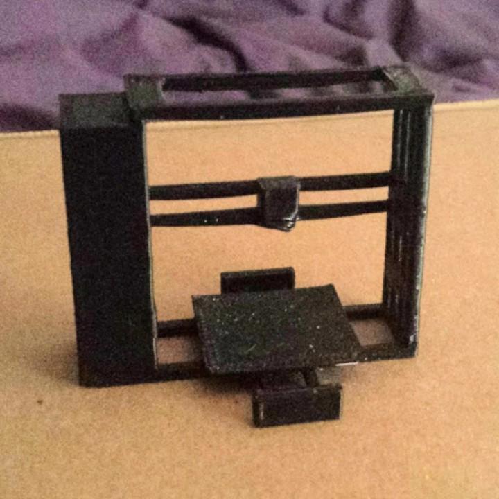 3D Printable LulzBot TAZ 6 3D Printer Model by Tia Bertz