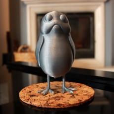 A little standing Porg