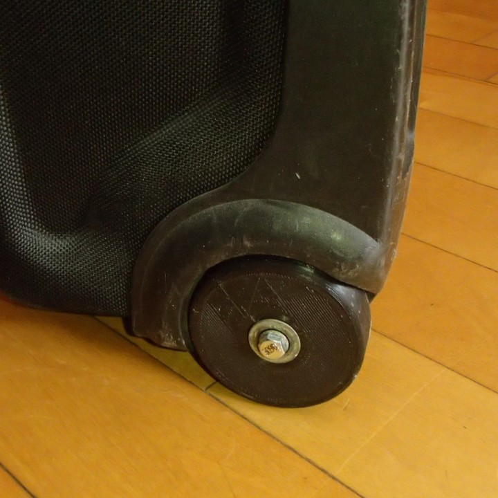 3d Printable Swiss Gear Luggage Replacement Wheel By Louis