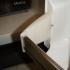 Whirlpool refrigerator replacement shelf bracket image