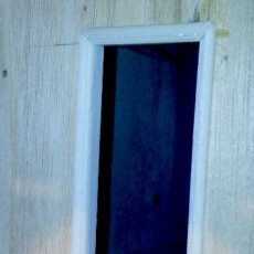 Doll house doorway molding