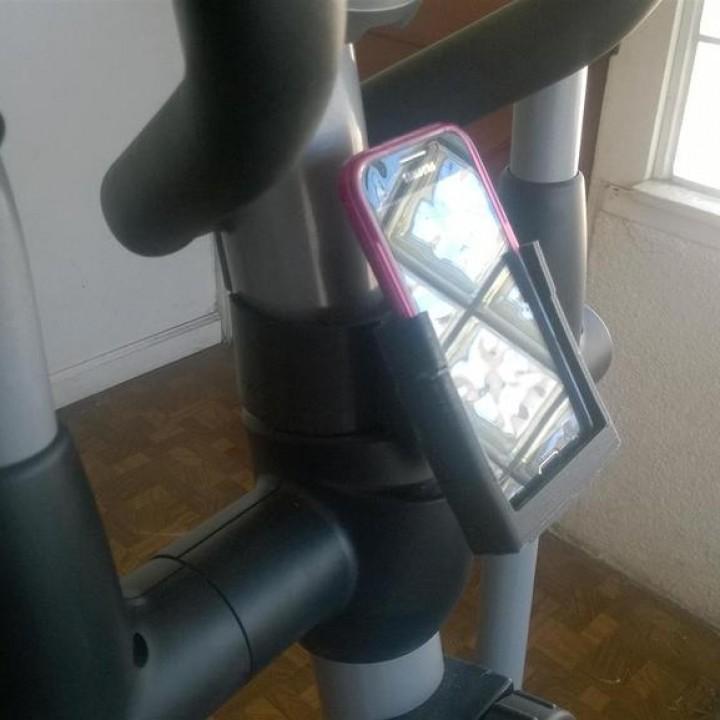Phone Holder Excersize Machine