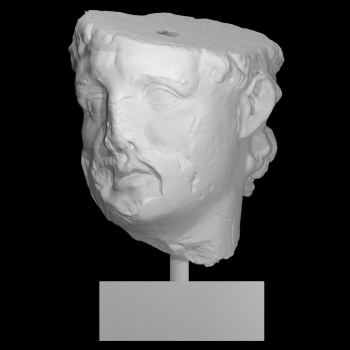 Head of a Hellenistic ruler