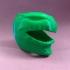 Green Ranger Helmet 1 Piece image