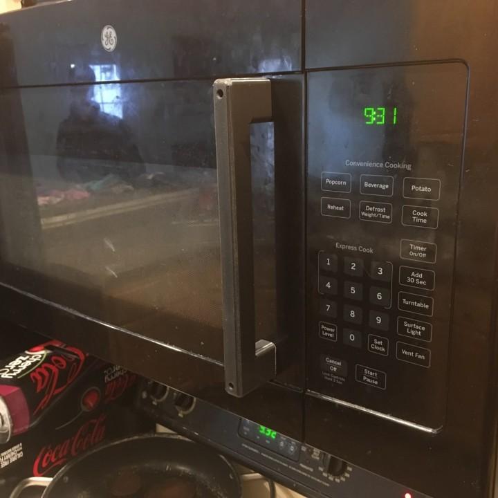 GE Microwave Handle