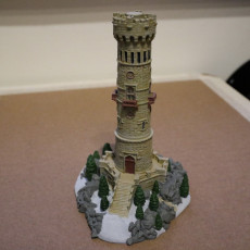 Picture of print of Miniature Lookout Tower