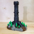 Miniature Lookout Tower print image