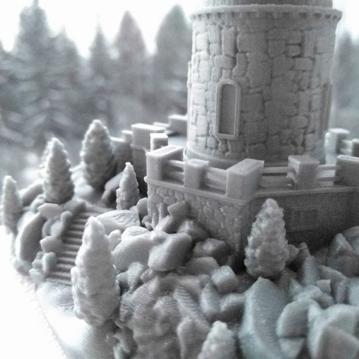 Miniature Lookout Tower