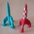 Tintin's Moon Rocket image