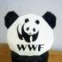World wildlife fund panda coin bank image