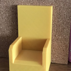 Picture of print of 2 playmobil armchairs
