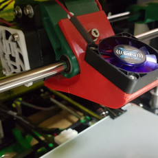 Picture of print of Bowden Carriage + Fan holder Ante A6