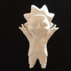 Picture of print of Tiny Rick! - 3D files