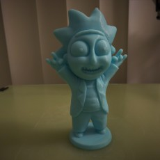 Picture of print of Tiny Rick! - 3D files This print has been uploaded by Racush Strago