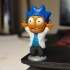 Tiny Rick! - 3D files print image