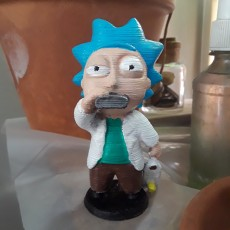 Picture of print of Drunk Tiny Rick - 3D files Этот принт был загружен Darryl Ricketts
