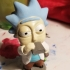 Drunk Tiny Rick - 3D files print image