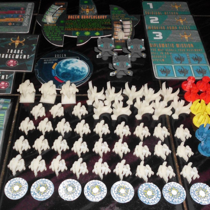 3D Printable Star Trek Ascendancy 3D file for the fan