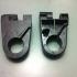 Photo tripod arm clamp print image