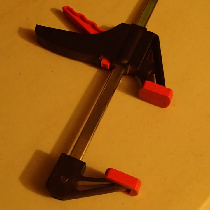 Replacement Head for a Trigger Bar Clamp