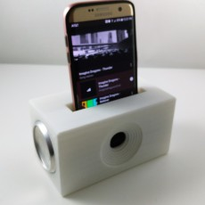 ESSO Up-cycled Phone Dock Charging Station  & Acoustic Sound Chamber