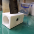 ESSO Up-cycled Phone Dock Charging Station  & Acoustic Sound Chamber print image