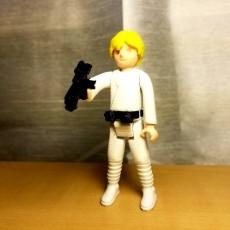 Picture of print of Luke Skywalker