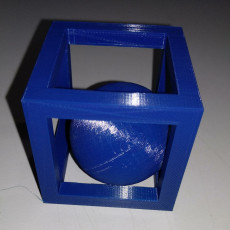 Picture of print of Ball in a box