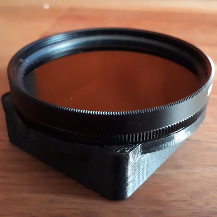 Porta Filtros Circular 52mm para GoPro Hero3