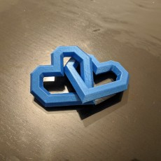 Picture of print of Interlinked Hearts
