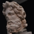 Head of a colossal statue of Zeus-Ammon image