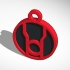 Red Lantern Pendant New image