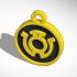 Sinestro Corps (Yellow Lantern) Pendant New image
