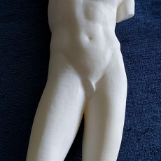 Picture of print of Statue of an athlete