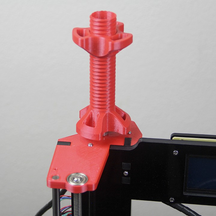 Top upgrade Filament Holder Anet A6 Left