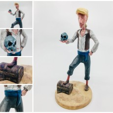 Picture of print of Guybrush Threepwood - Monkey Island