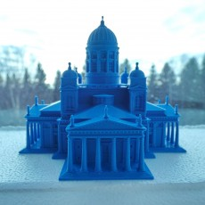 Picture of print of Helsinki Cathedral