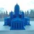 Helsinki Cathedral print image