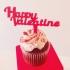 Valentine's Cupcake Topper image