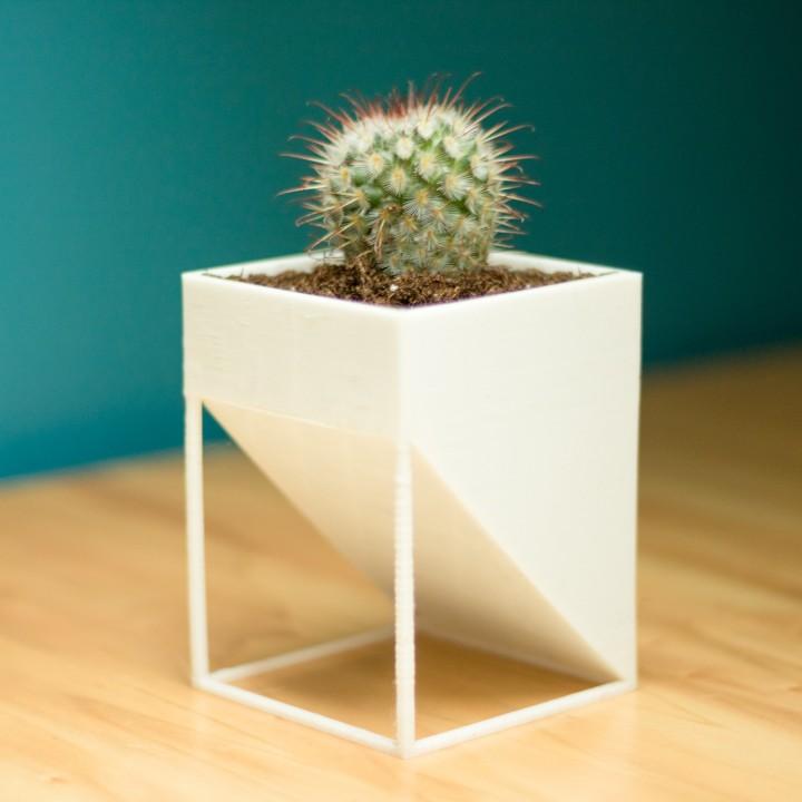 Square Pot - Flower Pot