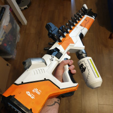 Picture of print of District 9 Alien Assault Rifle 这个打印已上传 Tachi Koma