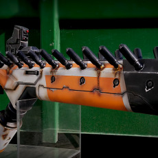 Picture of print of District 9 Alien Assault Rifle 这个打印已上传 Plastcore3D